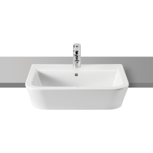 Roca The Gap Semi-Recessed Basin