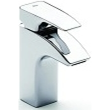 Roca Thesis Basin Mixer with Pop Up Waste Chrome