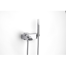 ROCA THESIS Wall Mounted Bath Shower Mixer Chrome
