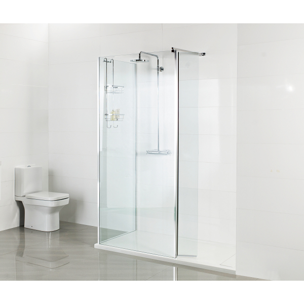 Roman 1000 Corner Wet Room Panel 8mm