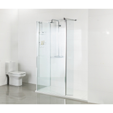 Roman 1100 Corner Wet Room Panel - 8mm