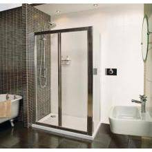 Roman Collage Bi-Fold Door Shower Enclosure 1000x760mm - White