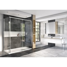Roman Decem Wet Room Panel Con Fix 1000