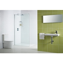 Roman Decem Wet Room Return Panel 400