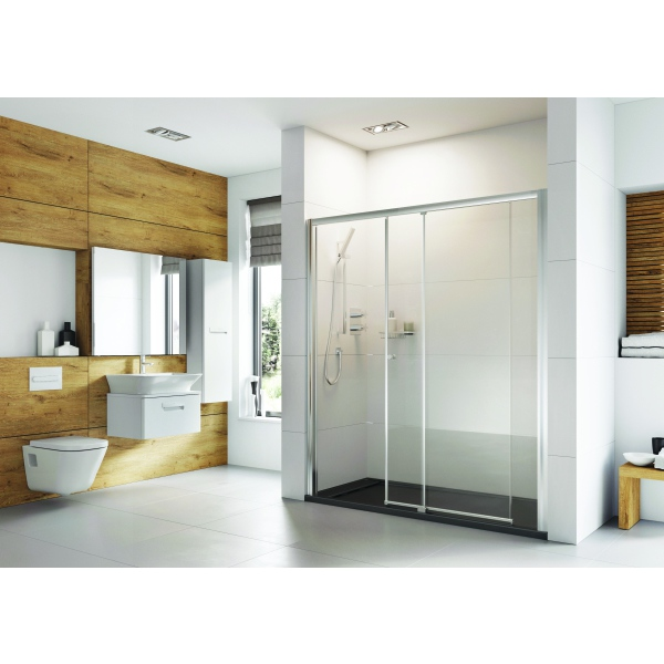 Roman Haven Plus Level Access Sliding Doors 1400mm Right Hand