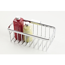 Roman Large Rectangular Shower Basket Chrome
