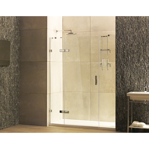 Roman Liberty Inline Panels For Alcove 1600 Nickel