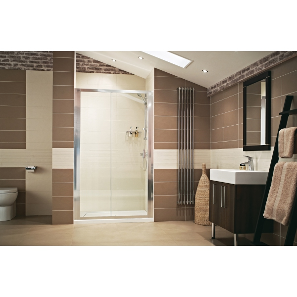 Roman Lumin8 Sliding Enclosure Door - 1200mm