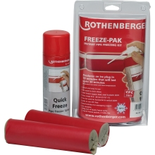 Rothenberger Freeze-Pak Pipe Freezing Kit