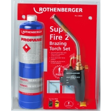 Rothenberger Super Fire 2 Brazing Torch Including Gas