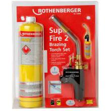 Rothenberger Super Fire Torch with MAP/PRO Gas