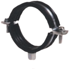 Rubber Lined Clip 15-19mm G4115