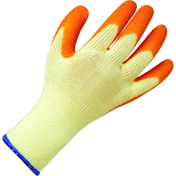 Suregraft Orange Grip Builders Gloves Size 9
