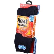 Sock Shop Heat Holders Socks - Navy