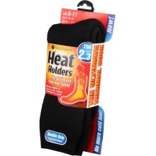 Sock Shop Heat Holders Socks - Charcoal