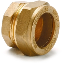 Stop End 10mm Brass