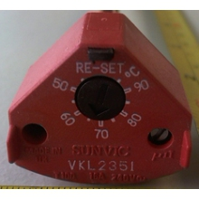 Sunvic Rod Stat Vkl2351 11In Man. Reset