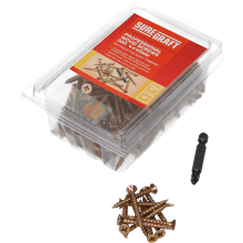 Suregraft 4X40mm Z&Y Wood Screw Pack of 200