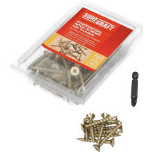 Suregraft 5X40mm Z&Y Wood Screw Pack of 100