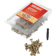 Suregraft 5X50mm Z&Y Wood Screw Pack of 100