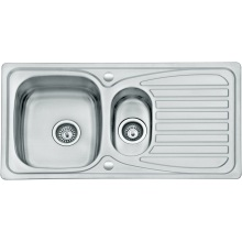 Suregraft 950x500mm Stainless Steel Sink 1.5 Bowl