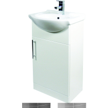 Suregraft Base Unit & Basin 750 x 300mm Gloss White