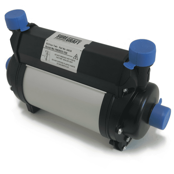 Suregraft By Stuart Turner 2.0 Bar Twin Shower Pump