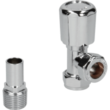 Suregraft 15mm Chrome Angled MRV WH/LS