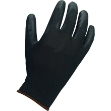 Suregraft Dry Handling PU Black Gloves Size 10