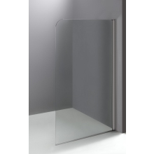 Suregraft Flat Bath Screen (6mm) 1400mm x 800mm - Polished Silver