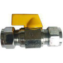 Suregraft Gas Mini Ball Valve Chrome Plated 5 Pack Suregraft Gas Mini Ball Valve Chrome Plated 10MM X 10MM (Clearance)