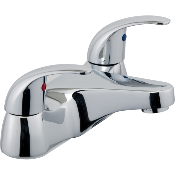 Suregraft Genoa 2 Taphole Bath Filler Chrome Plated