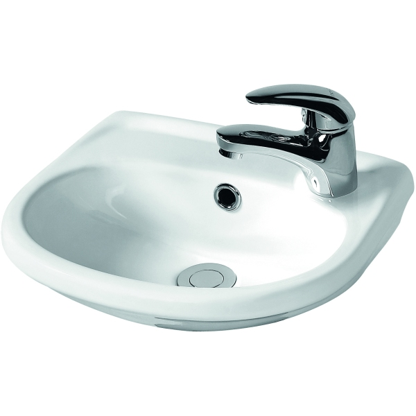 Suregraft Harmony Right Hand Tap Hole Cloakroom Basin 365mm