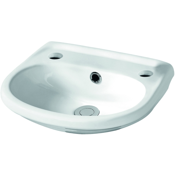 Suregraft Harmony 2 Tap Hole Wall Hung Cloakroom Basin 365mm