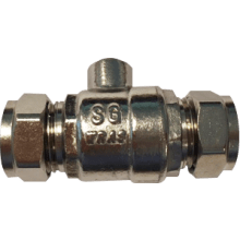 Suregraft Isolation Valve Full Bore WRAS - 15mm