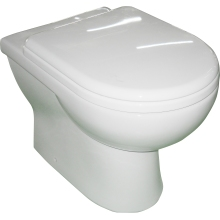 Suregraft Laredo Back to Wall WC Pan - White