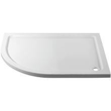 Suregraft 1000mm x 800mm Low Level Quadrant Stone Tray - Left Hand