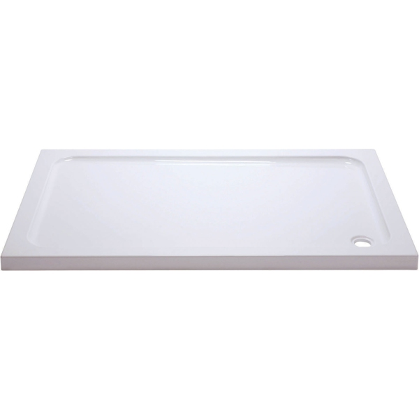 Suregraft Low Level Stone Shower Tray - 1200mm x 800mm