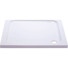 Suregraft Low Level Stone Shower Tray - 1000mm x 1000mm