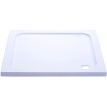 Suregraft Low Level Stone Shower Tray - 1100mm x 800mm