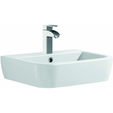 Suregraft Nelio 1 Tap Hole Basin 56cm - White