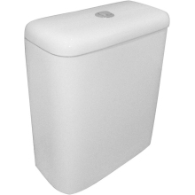 Suregraft Nelio Close Coupled Cistern - White
