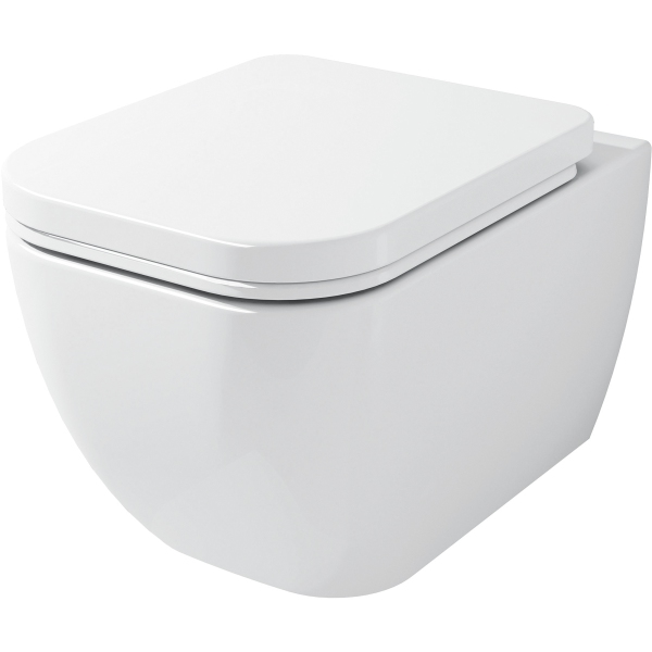 Suregraft Nelio Wall Hung WC Pan - White