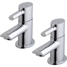 Suregraft Oval Bath Taps Pair Chrome Plated