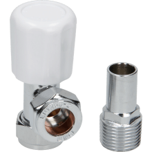 Suregraft 15mm White Angled MRV WH/LS