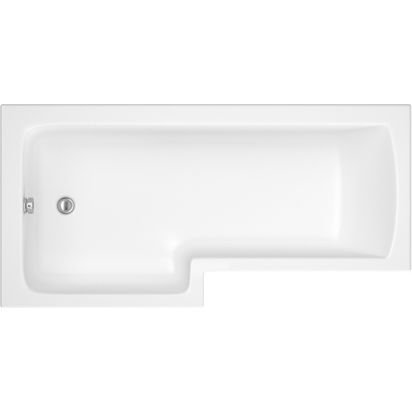 Suregraft Standard L-Bath 1700 x 700 x 385mm Left Hand