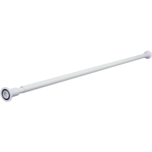 Suregraft Telescopic Curtain Rod White