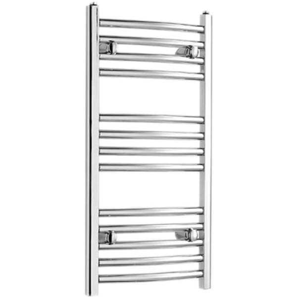 Suregraft Curved Towel Rail 700x450mm Chrome