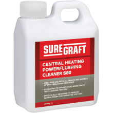 Suregraft Water Treatment Chemicals 80 Powerflush Cleaner 1L