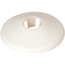 Talon 35mm Pipe Collar White PC35